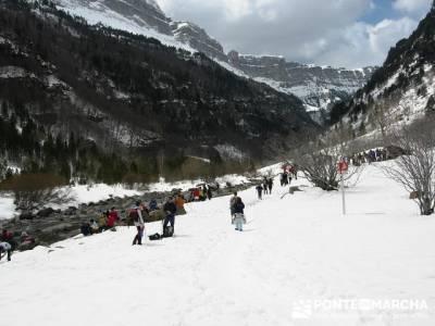 Valle de Ordesa; agencias de senderismo en madrid; viajes senderismo madrid